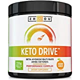 Keto Drive BHB Salts – Exogenous Ketone Performance Complex – Formulated for Ketosis, Energy, Focus and Fat Burn – Patented Beta-Hydroxybutyrates (Calcium, Sodium, Magnesium) – Orange Mango For Sale