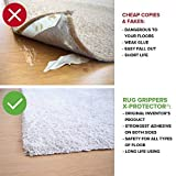 Rug Grippers X-PROTECTOR – Best 8 pcs Anti