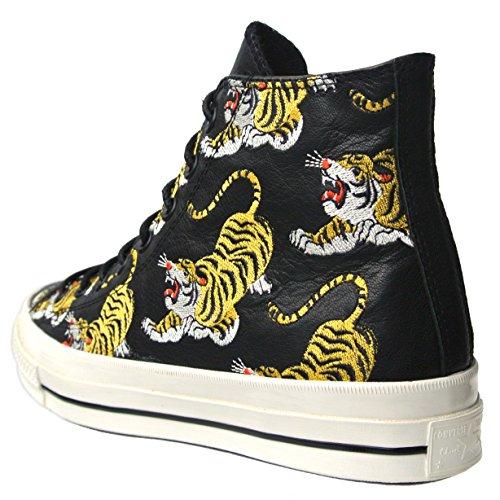 Converse Allstar Shoes Tiger Chucks Uk 9 Eu 42.5 Black 151995