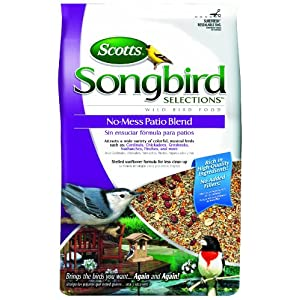 Songbird Selections No-Mess Patio Seed Blend 30