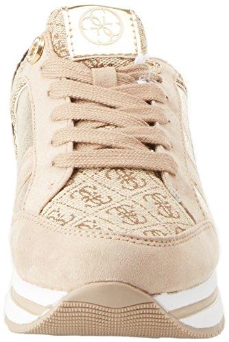 Mujer Lady Beibr Zapatillas Active Guess para Gold Dorado Footwear Wvq7qxgnX