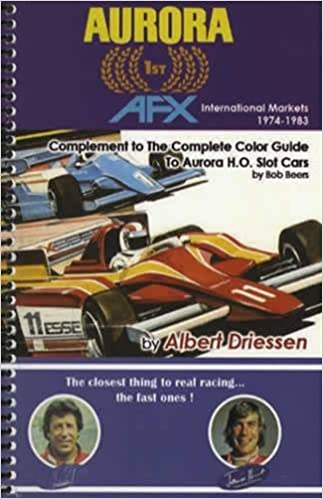 O The Complete Color Guide to Aurora H Slot Cars