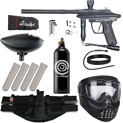 Action Village Azodin Epic Paintball Gun Package Kit (Kaos) (Black)