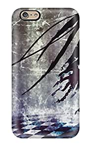 Sanp On Case Cover Protector For Iphone 6 (black Rock Shooter)
