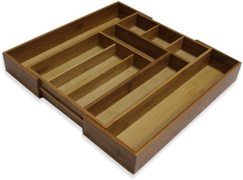 Alvar - Caja de almacenamiento telescópica para cubiertos y ...