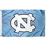 #4: UNC North Carolina Tar Heels University Large College Flag
