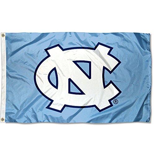 (UNC North Carolina Tar Heels University Large College Flag )