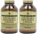 Solgar, Extra Strength Glucosamine Chondroitin Complex 300 Tablets X 2