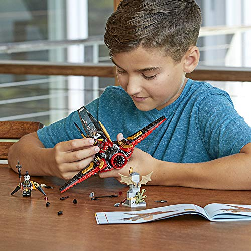 514jyNAhCbL - LEGO NINJAGO Masters of Spinjitzu: Destiny's Wing 70650 Building Kit (181 Piece)