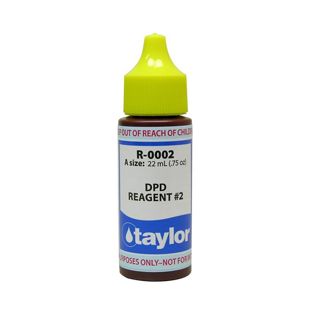 Taylor R-0002-A Reagent 2 Chlorine/Bromine DPD .75 ounce Taylor Technologies