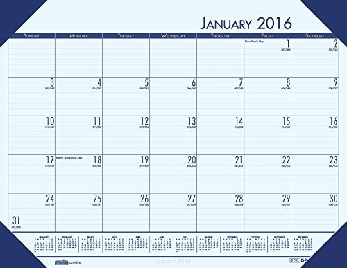 House of Doolittle 2016 Monthly Desk Pad Calendar, EcoTones, 18.5 x 13 Inches (HOD124640-16) by House of Doolittle (Pad Monthly Ecotones Desk Calendar)