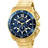 Invicta Men's 'Pro Diver' Quartz Stainless Steel Casual Watch, Color:Gold-Toned (Model: 21954)