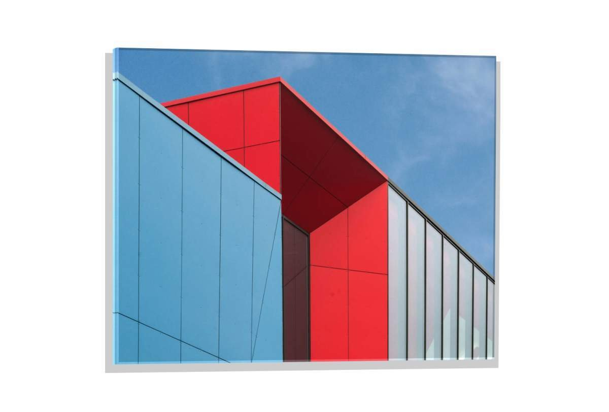 Kunst für Alle Imagen en Vidrio: Henk Van Maastricht Media Markt Detail, Mural, magnífica impresión de Arte Sobre auténtico Vidrio, 60x40 cm: Amazon.es: ...