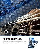 HARROWS Supergrip 90% Tungsten Steel Tip Darts, 23g