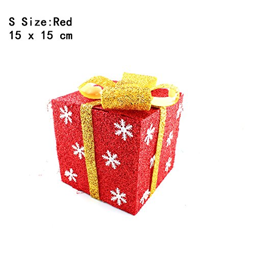 Outdoor Lighted Christmas Led Gift Presents Decoration in Florida - 7
