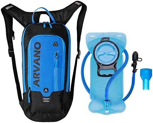 6L Mini Bicicleta mochila impermeable, paquete de hidratación con mochila 2L bolsa de agua bicicleta de esquí bolsa de esquí Biking,respirable hombro ...
