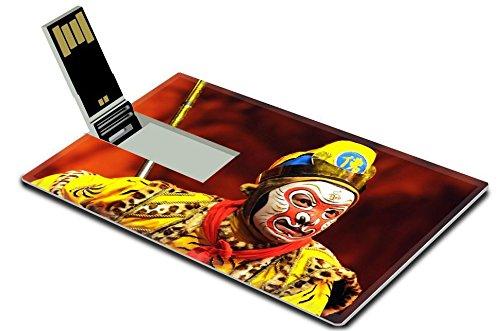 [MSD 32GB USB Flash Drive 2.0 Memory Stick Credit Card Size IMAGE ID: 6825880 china Opera Monkey] (Ethnic Dance Costume)