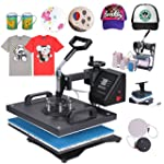 Mophorn Heat Press 8 in 1 Multifuncti...