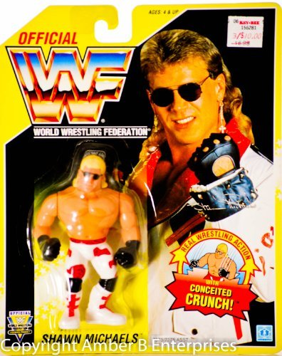 (Wwf Shawn Michaels with Conceited Crunch! Vintage Action Figure)
