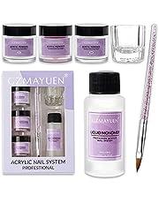 Acrylpoeders vloeistoffen 30ml Acryl vloeistoffen en wit Doorzichtig roze Acryl poeders