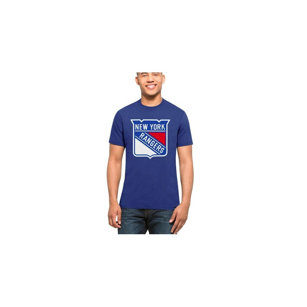 '47 NHL New York Rangers Blue Graphic T-Shirt '47