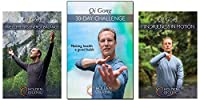 Bundle: Qi Gong 30-Day Challenge 3-DVD set by Lee Holden (YMAA) MIRROR-VIEW Qigong DVD 2018 **BESTSELLER**