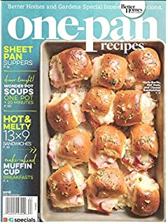 Better Homes Gardens Skinny One Pan Recipes Magazine 2016