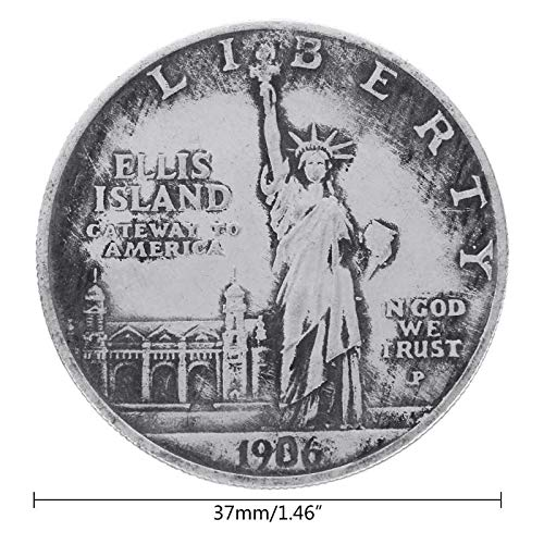 M 2 Heatsink - 1906 Statue Of Liberty United States With Torch Commemorative Challenge Coin Yh Ktsf - Non-currency Xml2 Torch Heatsink State Usa Saquon Hole 9020 Express Torch Silver 5 Dodge M