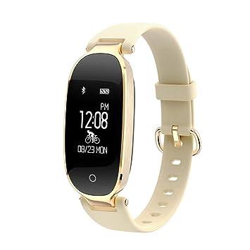 ALKINW Reloj Inteligente Bluetooth Smart Watch Moda Mujer ...