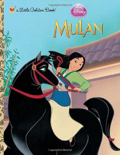 Mulan (Disney Princess) (Little Golden (Mulan Disney Princess)