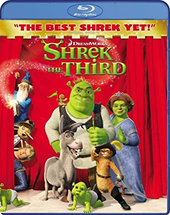 Shrek The Third (2007) BluRay 720p 1.1GB [Hindi 2.0 – English DD 5.1] MKV