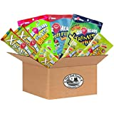 Airheads and Xtremes Kids Sour Candy Variety Bundle - Airheads Xtremes Sourfuls Rainbow Berry, Airheads Soft Filled Bites, Airheads Xtreme Sweetly Sour Belts,and Airheads Xtreme Bites Peg Bag