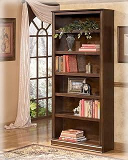 Ashley H527 17 Hamlyn Large Brown Bookcase
