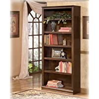 Ashley H527-17 Hamlyn Large Large Brown Bookcase