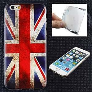 SHOUJIKE The British Flag Pattern TPU Ultra Soft Case for iPhone 6