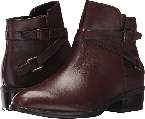 LAUREN Ralph Lauren Women's Mehira Dark Brown Burnished Calf 8.5 B US
