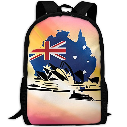 The Sydney Opera House Australia Interest Print Custom Unique Casual Backpack School Bag Travel Daypack - Sydney Sunglasses