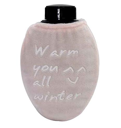 Bolsa portátil de agua caliente, linda botella de agua caliente Mini calentador de mano [