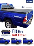 Tyger Auto Tg-bc3t1031 Tri-fold Truck Bed Tonneau Cover 2005-2015 Toyota Tacoma | Fleetside 6' Bed | For Models With Or Without The Deckrail System