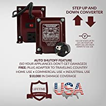US to Switzerland Transformer by ACUPWR (TM) AD-1500 Watt High End Step Down Transformer with ACUPWR (TM) Plug Kit- 220V to 110V - Made with the Finest Materials in the USA]