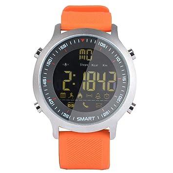 Qulista Reloj Bluetooth Multifunción Impermeable para ...