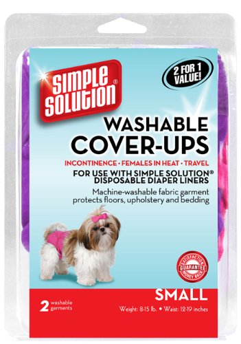 Simple Solution Washable Diaper Cover-Ups, Small,