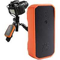 XSories Weye Feye Wireless Camera Remote Control And Instant Wi-Fi Sharing For Canon And Nikon DSLR Cameras (Black/Orange)