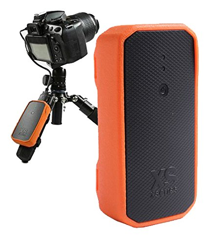 XSories Weye Feye Wireless Camera Remote Control And Instant Wi-Fi Sharing For Canon And Nikon DSLR Cameras (Black/Orange) by XSories