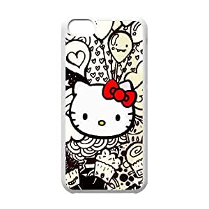 Printed Phone Case Hello Kitty For iPhone 4,4S L1A2403