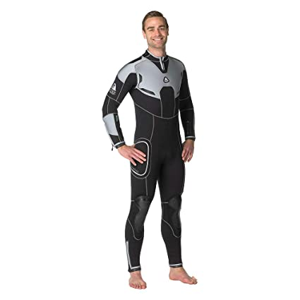 065ae52db2 Amazon.com  Waterproof Mens W4 5mm Backzip Wetsuit  Sports   Outdoors
