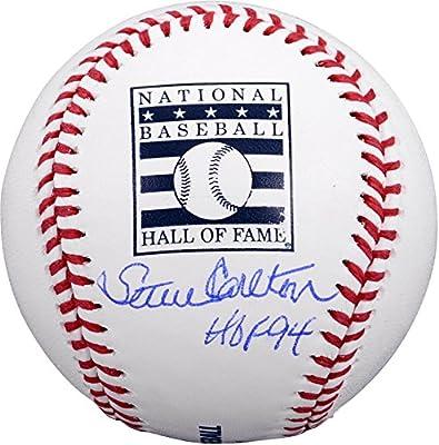 "Steve Carlton Philadelphia Phillies Autographed Hall of Fame Baseball with ""HOF 94"" Inscription - Fanatics Authentic Certified"