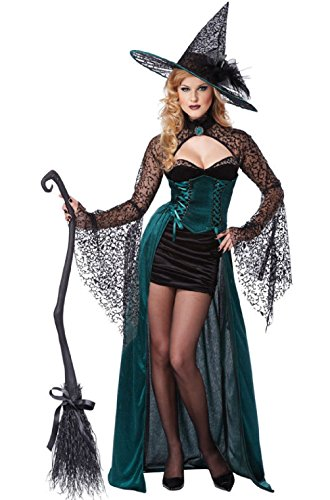 Enchantress Stunning Sexy Witch Adult Costume - Bugs Bunny Witch Costume