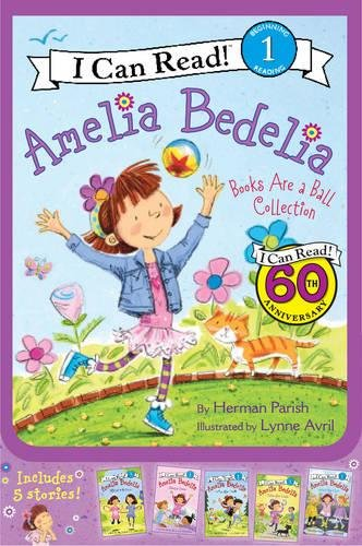Amelia Bedelia I Can Read Box Set #2: Books Are a Ball (I Can Read Level 1)