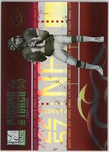 2005 Donruss Elite Passing the Torch Red #PT6 Trent Green NM-MT /1000 Chiefs ()